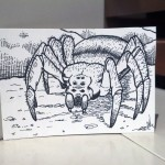 Ultima Manual Illustrations - Giant Spider