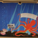 Banner start and octo underside